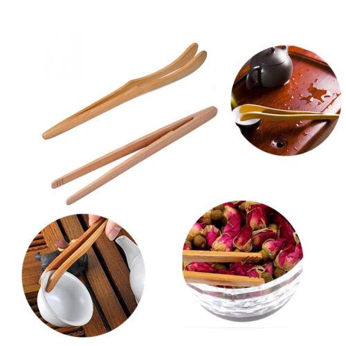 ustensile de cuisine le thé des pinces bois de bambou pince à épiler salade.