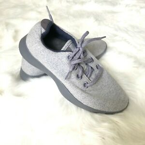 All-Birds-Women-039-s-Size-9-Wool-Runners-Natural-Grey-Blue-Comfort-Shoes