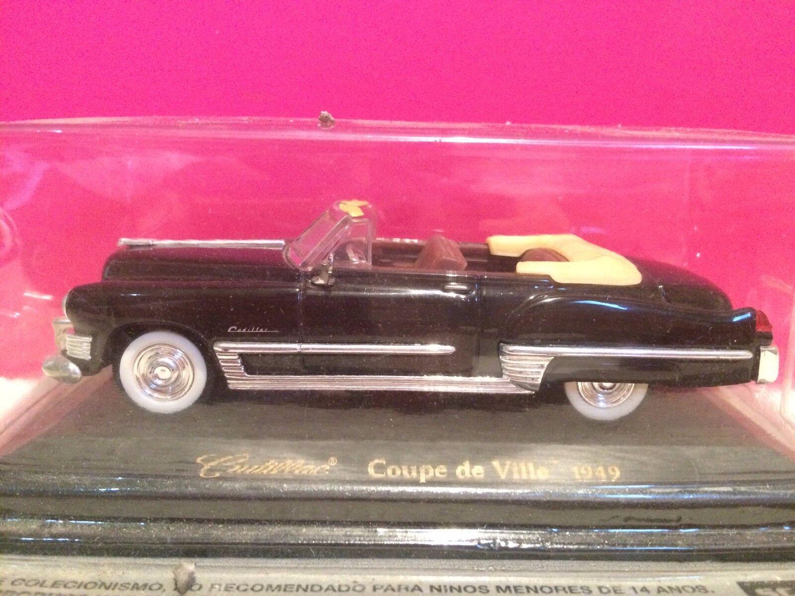 SUPERBE CADILLAC COUPE DE VILLE 1949 NEUF SOUS BLISTER 1 43 J2