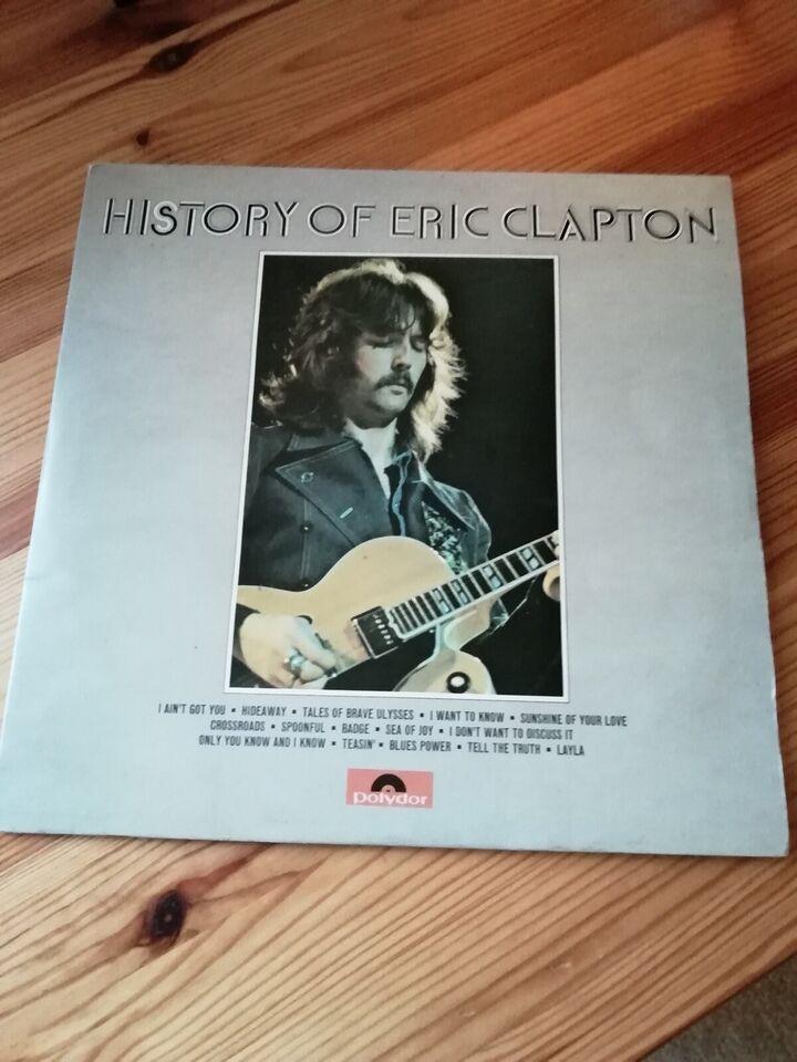 LP, Eric Clapton , History of Eric Clapton