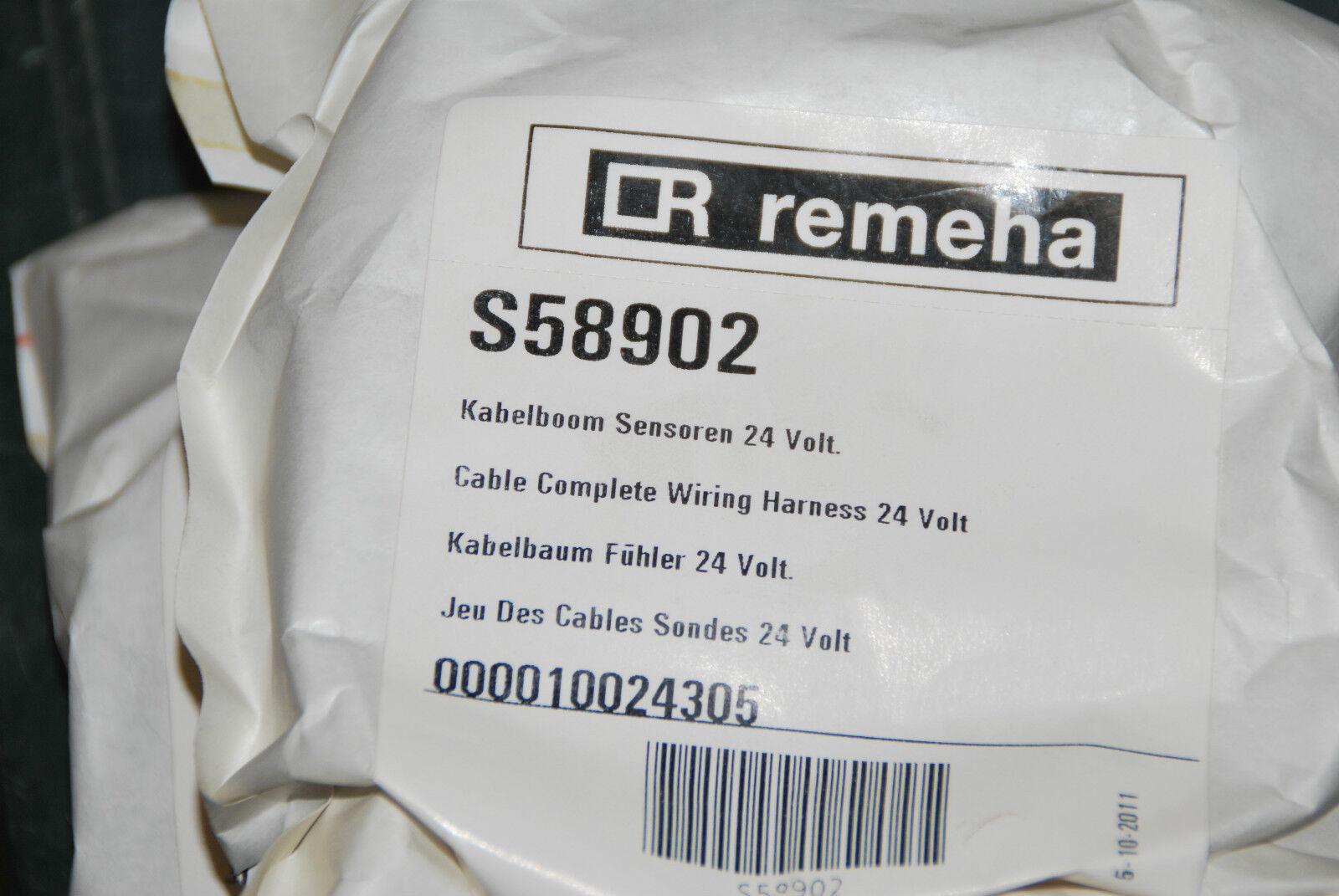 REMEHA S58902 KABELBAUM FÜHLER 24 V QUINTA 28 C KABELBOOM SENSOREN NEU