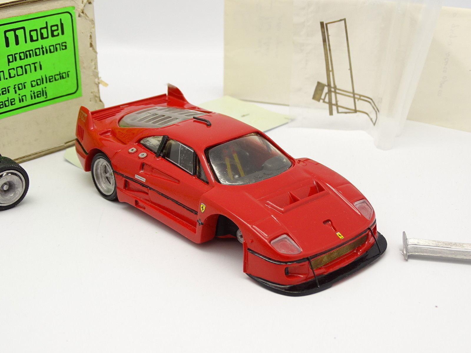 ContiModel ContiModel ContiModel Kit Montato Resina 1 32 - Ferrari F40 LM Corsa ea6b33