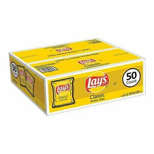 Lay-039-s-Classic-Potato-Chips-1-oz-50-ct-BEST-DEAL-IN-THE-US
