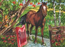 Reeves Malen nach Zahlen Painting Malerei Galoppierende Pferde R-PL26