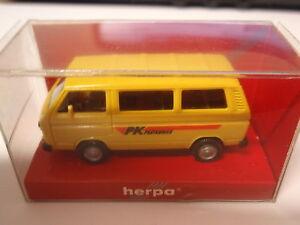 Herpa-041270-VW-BULLY-BUS-Corriere-postale-1-87-Nuovo-u-OVP
