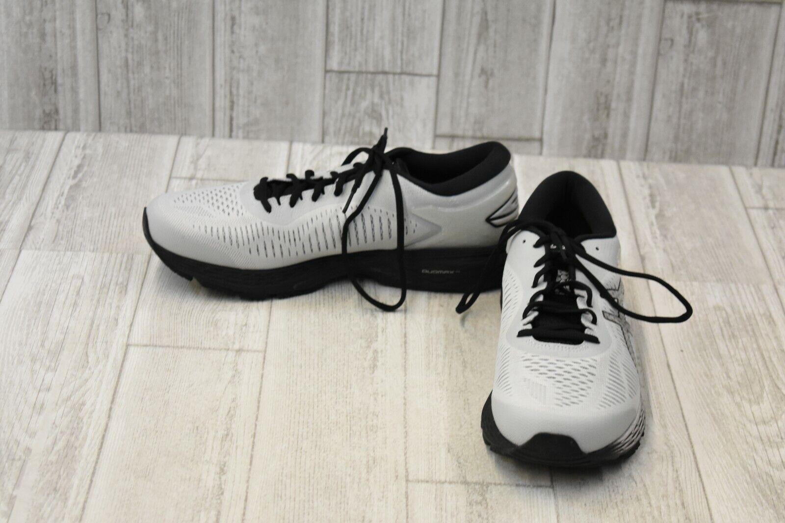 Asics Gel Keyano 25 baskets-Homme Taille 11, glacier gris noir