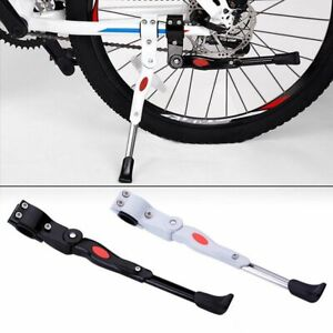 Adjustable MTB Bike Side Kickstand Bicycle Cycle Aluminum Side Rear Kick Stand