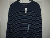 Old Navy Men's Striped Crewneck Sweater Size Xl