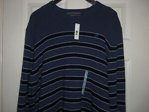 2b7d5bf5230 Image is loading Old-Navy-Men-039-s-Striped-Crewneck-Sweater-
