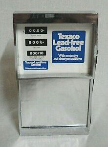 """LOOK! 1970`S """"TEXACO GASOHOL"""" GAS PUMP NOVELTY AM TRANSISTOR RADIO STILL WORKS!"""