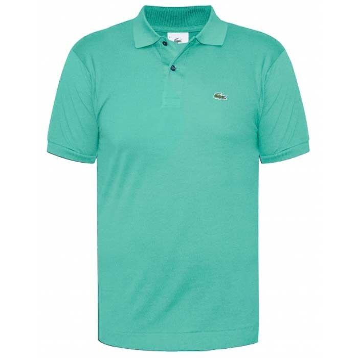 Lacoste Abbigliamento LACOSTE POLO PIQUET 1264 MELANGE verde mod.  1264-DB9  apresurado a ver
