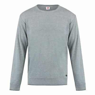 Lee Cooper Seal Knit Pullover Mens Gents Crew Jumper Full Length Sleeve Neck