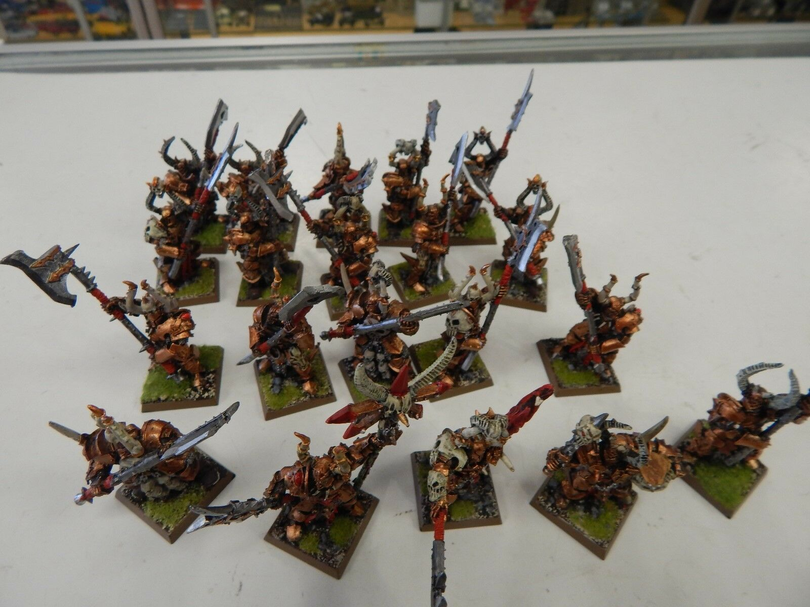 Games Workshop Fantasy Chaos Knights painted metal figures x 20