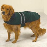 Medium Bichon Shih Tzu Pug Reflective Dog Coat Jacket Clothing M Clothes Green