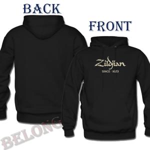 New Zildjian Logo Since 1623 Classic Hoodie Mens /& Womens