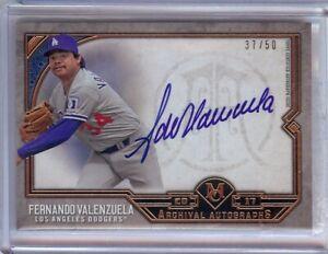 Fernando-Valenzuela-2017-Topps-Museum-Archival-Autograph-Auto-Dodgers-FV-37-50
