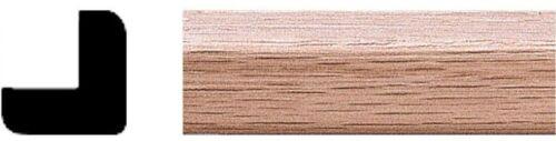 Oak Outside Corner Moulding Solid Wood x 3//4 in House of Fara 3//4 in x 8 ft