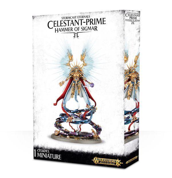 Stormcast Eternals Celestant-Prime Warhammer Age of Sigmar nuovo   vendita scontata online di factory outlet