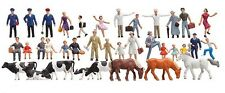 N scale Faller THIRTY-SIX FIGURE STARTER SET ( with Animals )  155253 New in Box