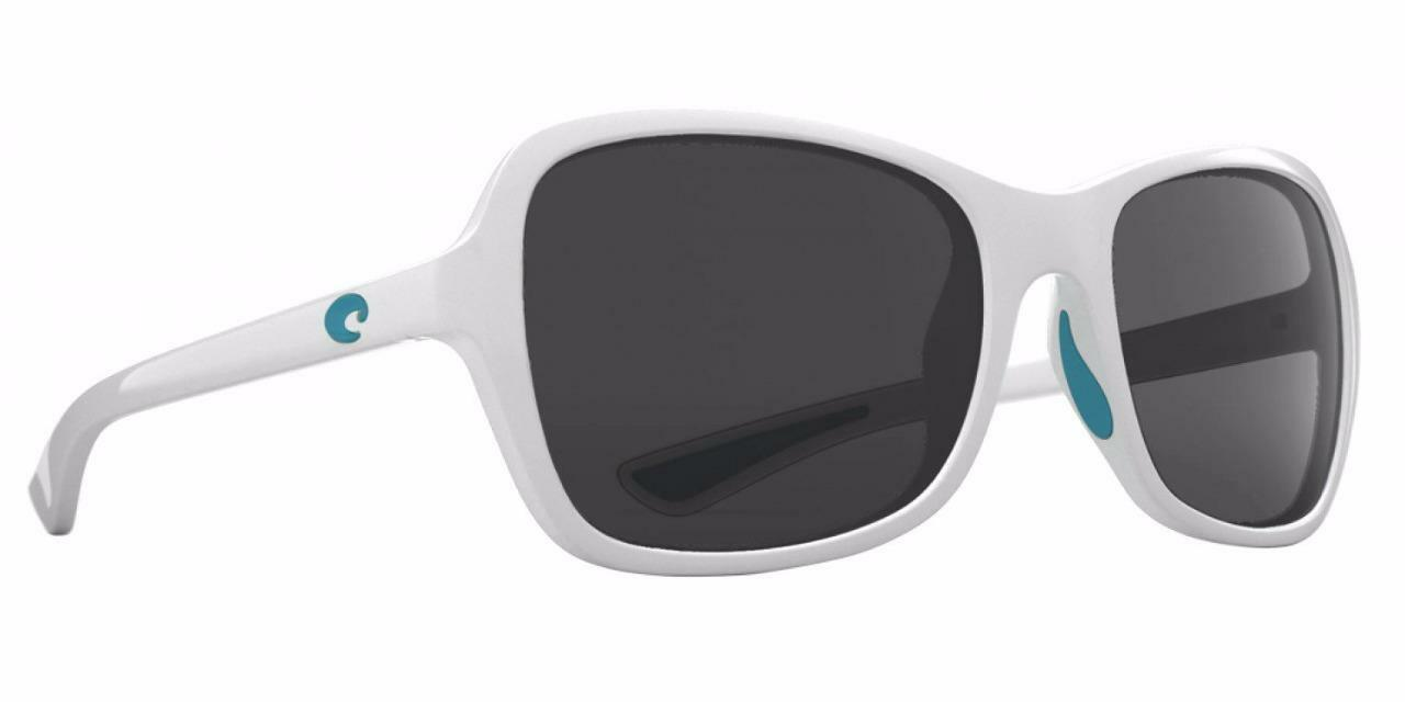 New Costa del Mar KARE OCEARCH Polarized Sunglasses Great biancagrigio 580P donna
