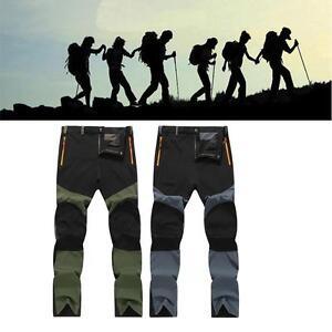 Militaire-Hommes-Femmes-Chaud-Exterieur-Pantalon-Pluie-Moto-Randonnee-Taille