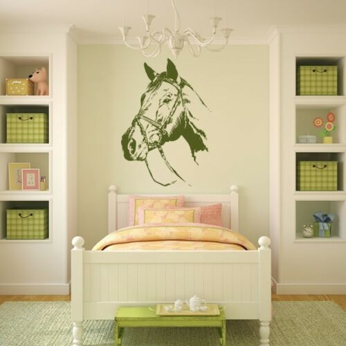 AS10081 Horse Head Wall Art Sticker