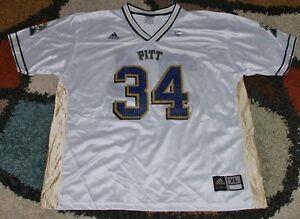 29001c7c2 Image is loading NCAA-Pittsburgh-PITT-Panthers-Mesh-Jersey-Adidas-White-