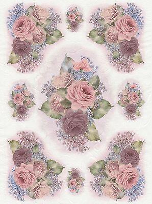 craft tissue paper Home & Garden Flower garden cream-purple Rice ...