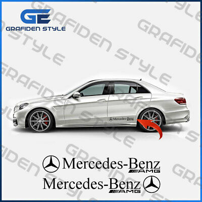 Auto Seiten Aufkleber 1 Paar MERCEDES L 150cm /<!/>/<!/> Sticker Decal