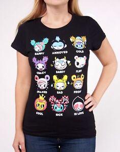 NEW Official License Tokidoki Milky Way Women/'s Tee T-shirt WBTE06188 US Seller