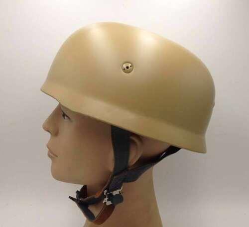 WW2 WWII German Fallschirmjager M38 Steel Helmet With Leather Liner M38 Mud