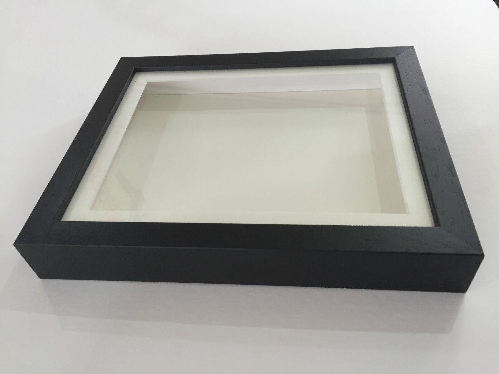 3D deep box cadre photo affichage mémoire lego lego mémoire médailles souvenirs fleurs noir d56ee0