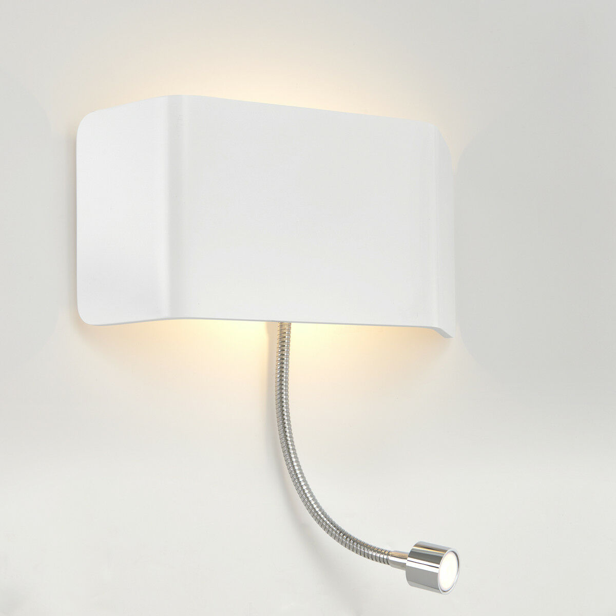 Saxby VERONA moderno decorativo per interni LED Up Down Muro & Luce di lettura flessibile