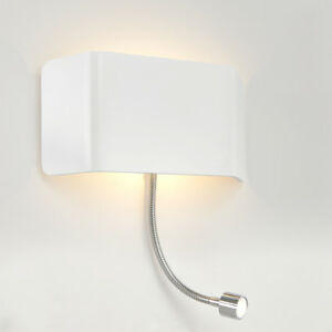 SAXBY-VERONA-Modern-Decorative-Indoor-LED-Up-Down-Wall-amp-Flexible-Reading-Light