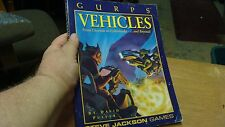 Steve Jackson, GURPS, Vehicles, 1993, Nice Book, SJG019956505