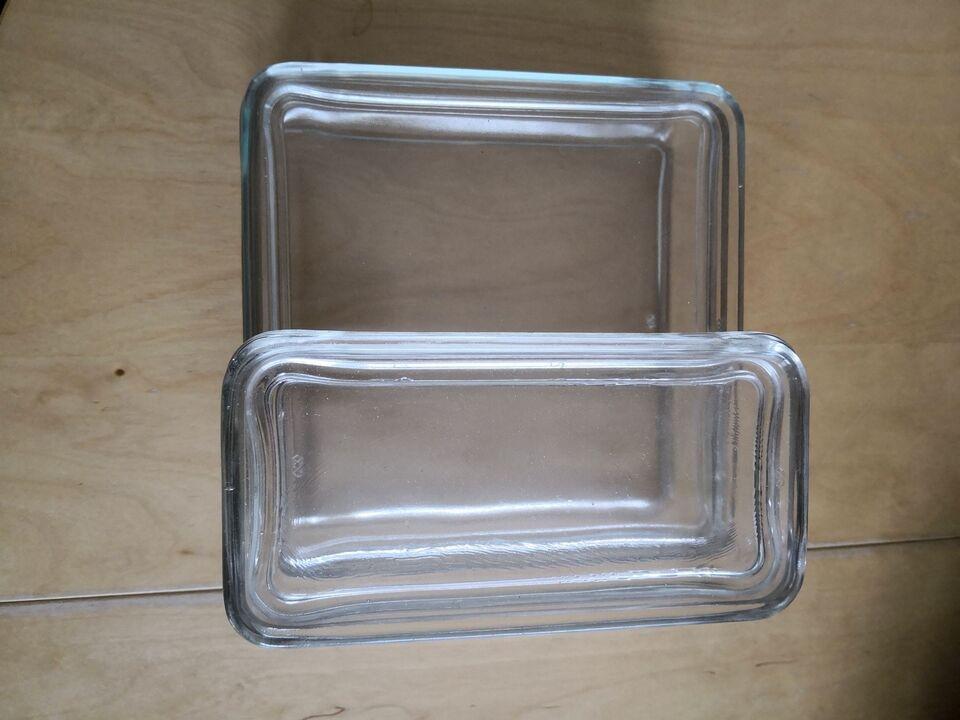 Glas, Skåle med låg, Kubus