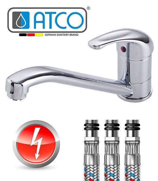 ATCO® Niederdruck Küchenarmatur Einhandmischer Wasserhahn Boiler Untertischgerät