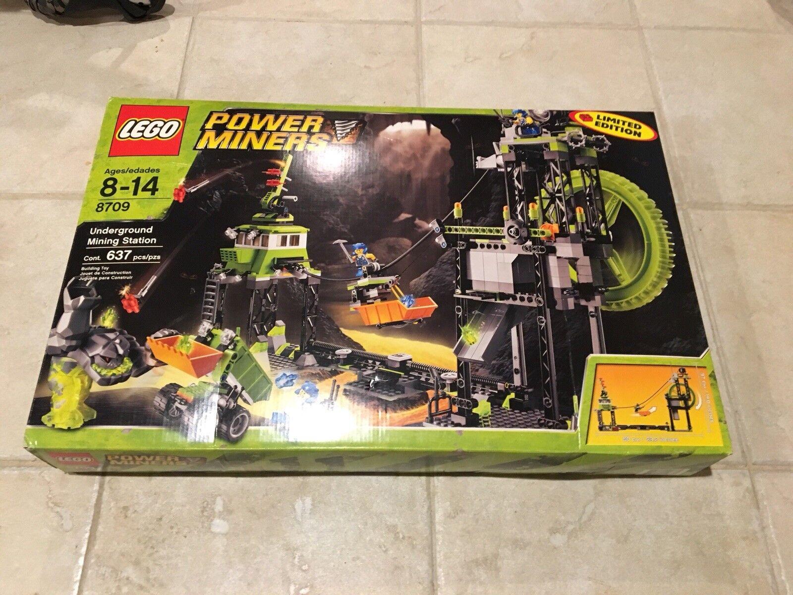 Lego Power Miners Underground Mining Station  8709  brand new, sealed, unopened
