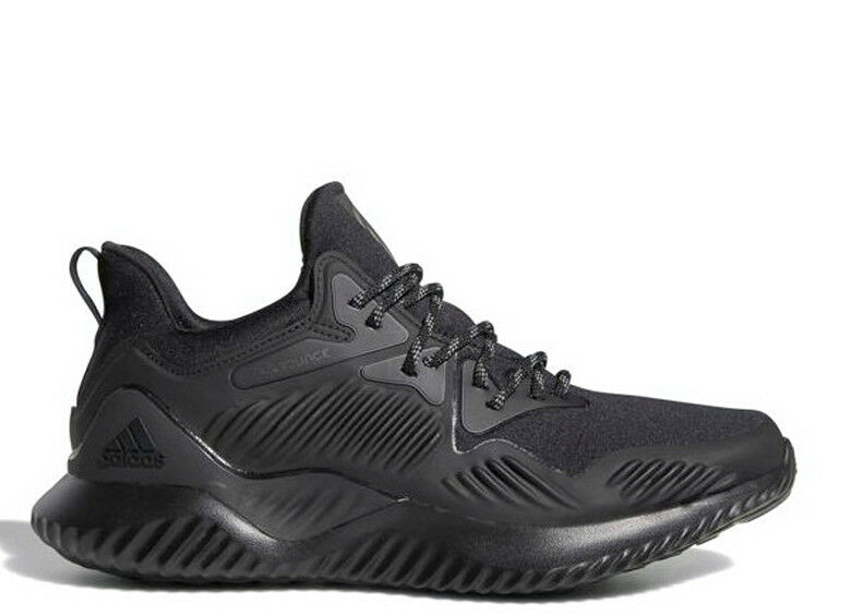 Adidas Men Alpha-bounce Beyond shoes Running Training Black Sneakers shoes B76046
