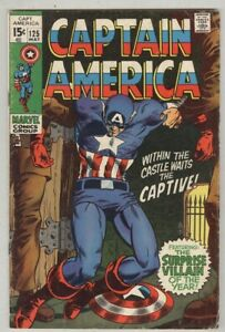 Captain-America-125-May-1970-VG