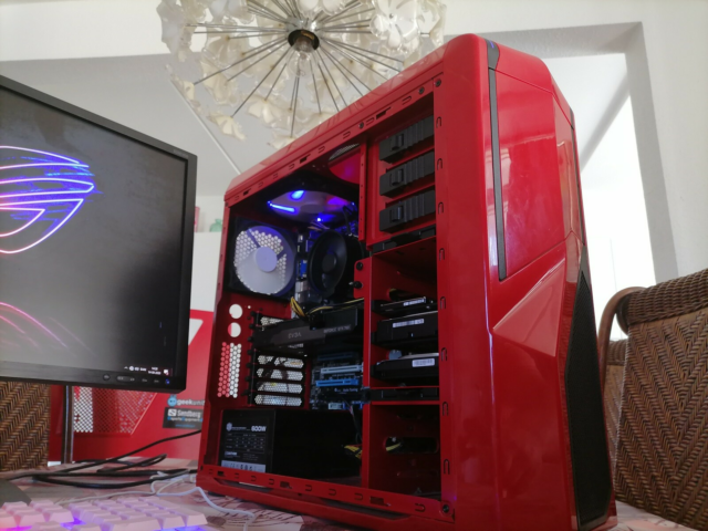 Asus, GAMER PC Core i7, Intel Core i7 3770K med turbo speed…