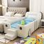 thumbnail 2 - Kids Bed Children's Dream Racing Car Bed Wooden safe sleeping area Bedroom gift