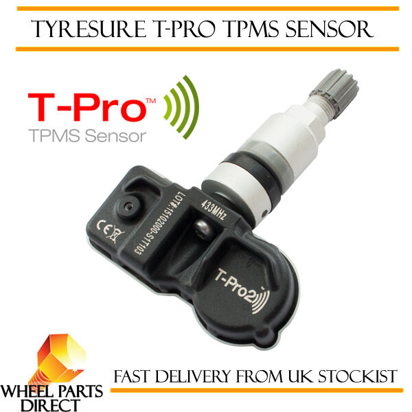 TPMS Sensor 1 TyreSure T-Pro Presión De Los Neumáticos Válvula Para Nissan GT-R