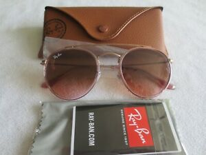 lunette ray ban ronde rose