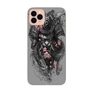 Coque Iphone 12 PRO MAX samourai fleur cerisier dragon