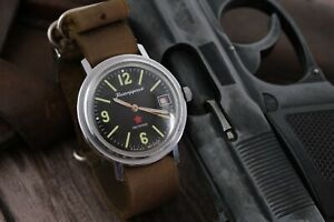 RARE-Vintage-Military-VOSTOK-Wostok-Komandirskie-Chistopol-Zakaz-MO-USSR-watch