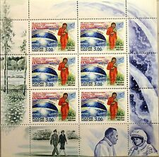 RUSSIA RUSSLAND 2003 Klb 1088 MS 6777a Space Flight V. Tereshkova Raumfahrt MNH