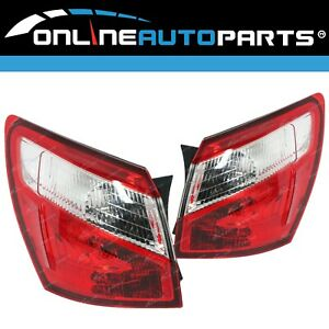 LH+RH Tail Lights Pair for Nissan Dualis J10 Series 2 2010~2014 Left + Right