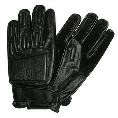 Leather Glove with Added Protection door supervisors bouncers security police