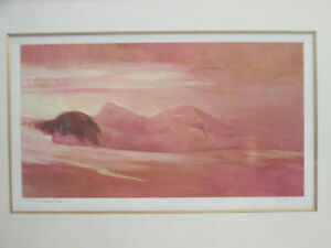 Large-Limited-Edition-Print-Distant-Shores-2-195-Signed-Nude-Beach